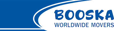 Booska Worldwide Moving Logo